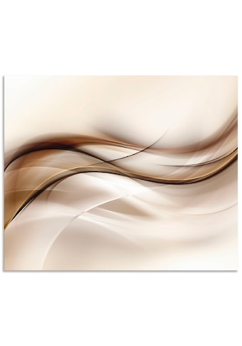 Artland Küchenrückwand »Braune abstrakte Welle«, selbstklebend in vielen Größen -... kaufen
