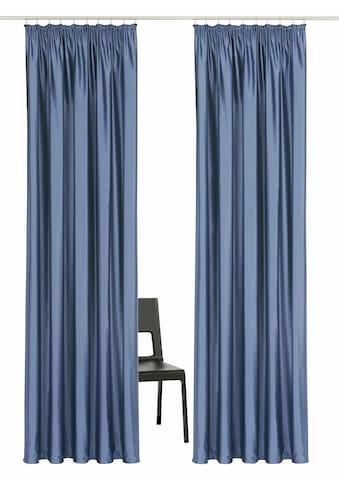 Vorhang, »Satin«, Guido Maria Kretschmer Home&Living, Kräuselband 2 Stück kaufen