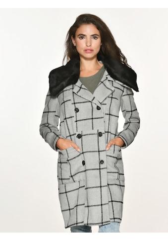 Maze Wollmix-Jacke mit Fellkragen kaufen