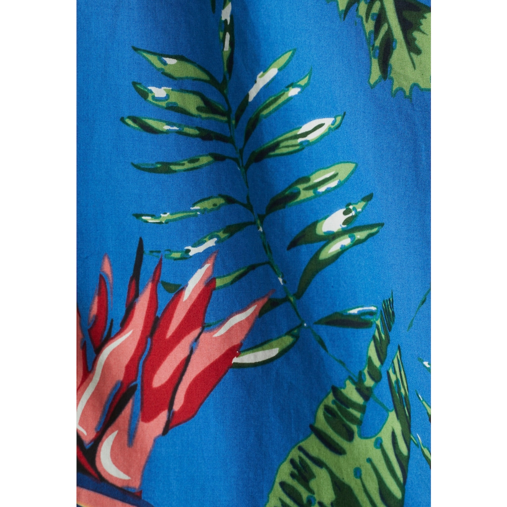 Esprit Kurzarmhemd, mit Hawaii-Print