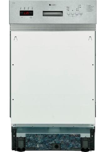 NABO teilintegrierbarer Geschirrspüler, GSI 1047, 11 l, 10 Maßgedecke kaufen