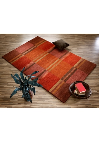 OCI DIE TEPPICHMARKE Teppich »Sensation Soya«, rechteckig, 6 mm Höhe, handgeknüpft,... kaufen