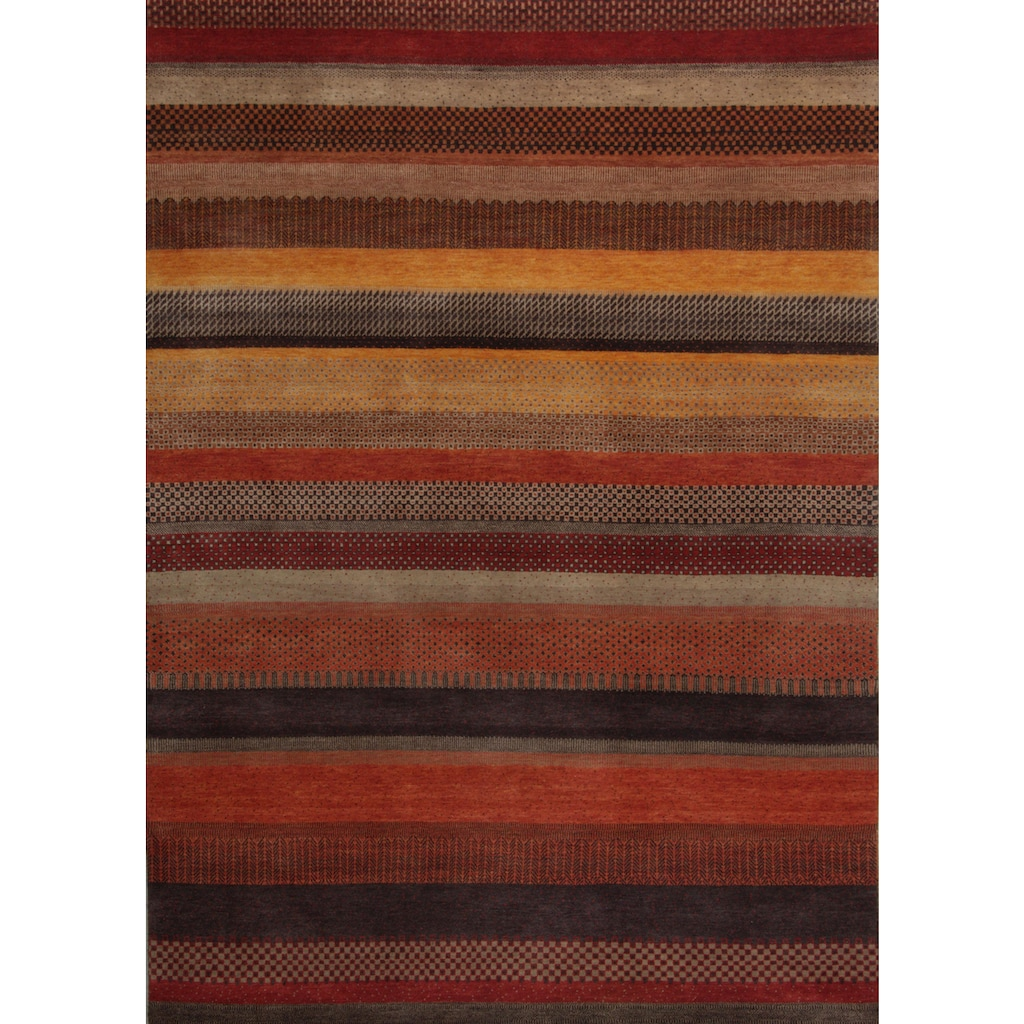 THEKO Wollteppich »Lori Astara 1025«, rechteckig, 16 mm Höhe, reine Wolle, handgeknüpft, Wohnzimmer