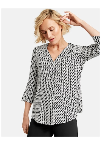 GERRY WEBER Bluse 3/4 Arm »3/4 Arm Shirt mit grafischem Muster« kaufen