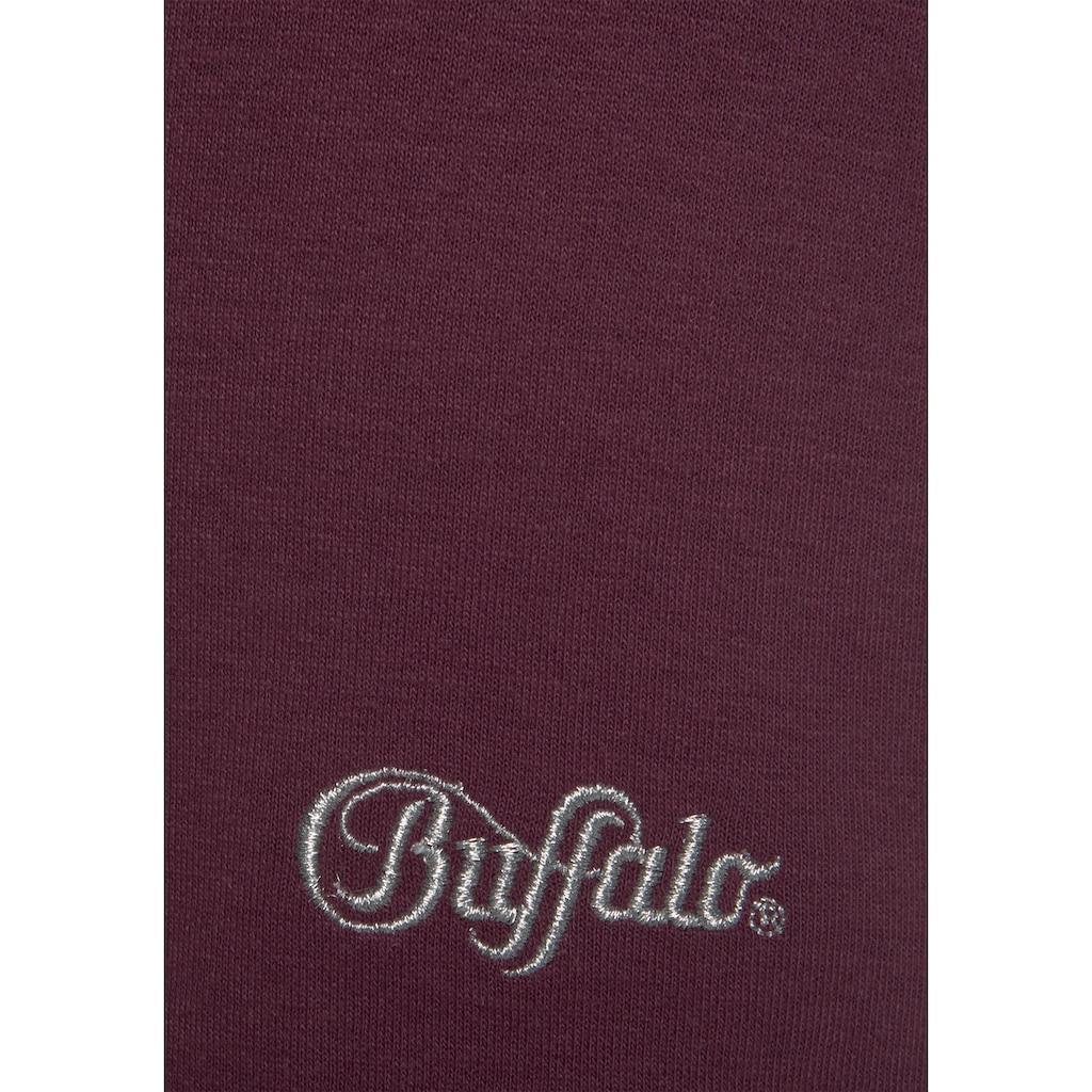 Buffalo Sweatbermudas, mit seitlichen Eingrifftaschen