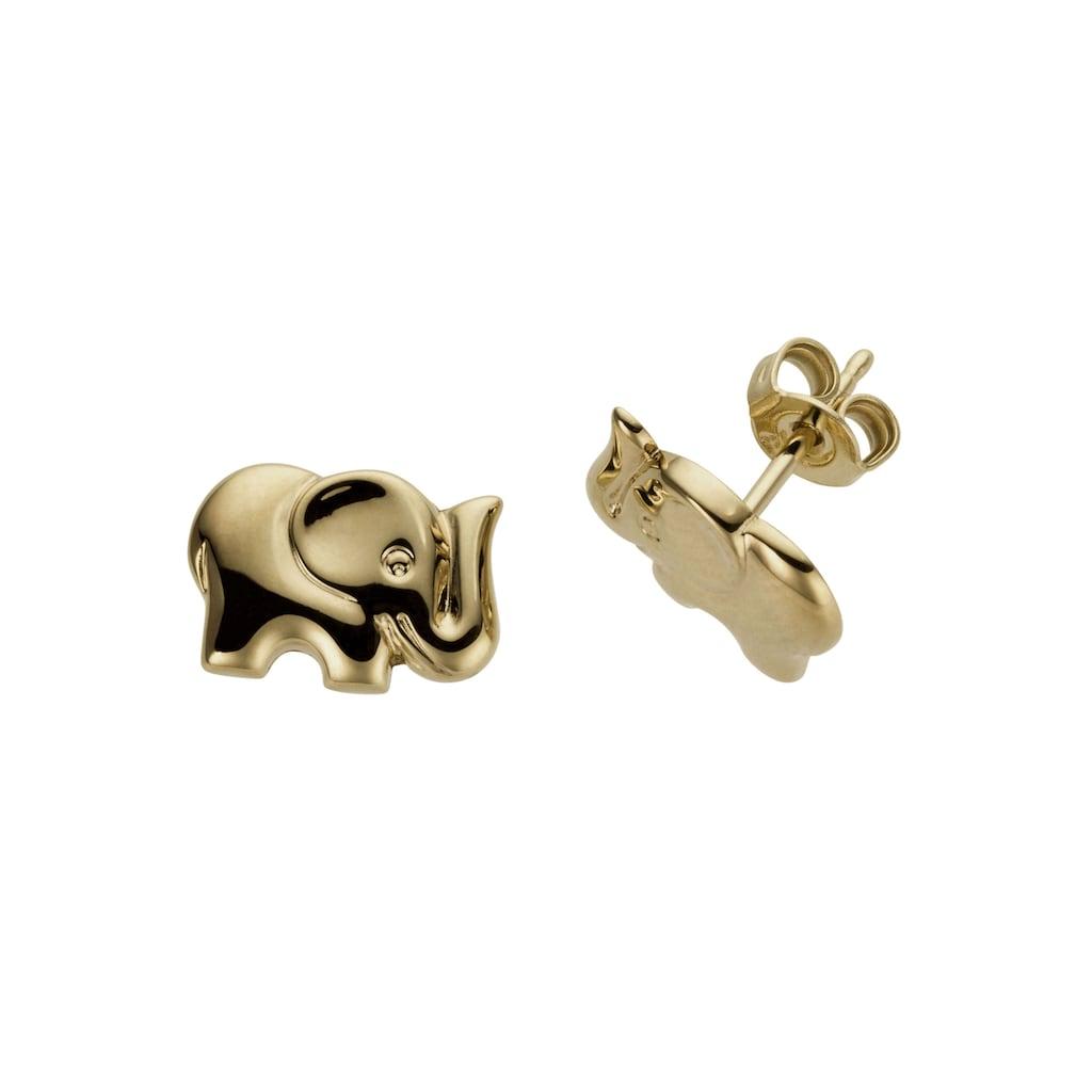 Firetti Paar Ohrstecker »Elefanten, im glänzenden Design«, Made in Germany