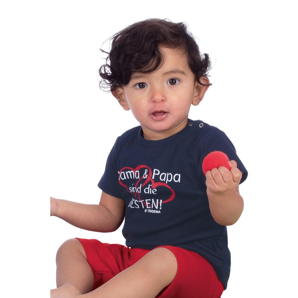 Trigema T-Shirt Mama & Papa