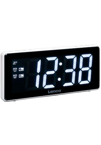 Lenco »CR - 30« Uhrenradio (FM - Tuner) kaufen
