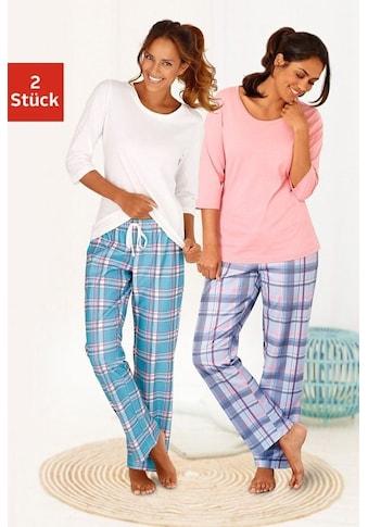 Arizona Pyjama (2 Stück) kaufen