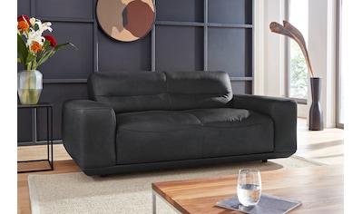 W.SCHILLIG 2-Sitzer »william«, Ledersofa, wahlweise mit Sitztiefenverstellung, Breite... kaufen