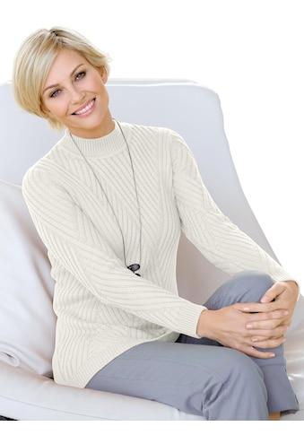 Casual Looks Pullover mit Rautenmuster kaufen