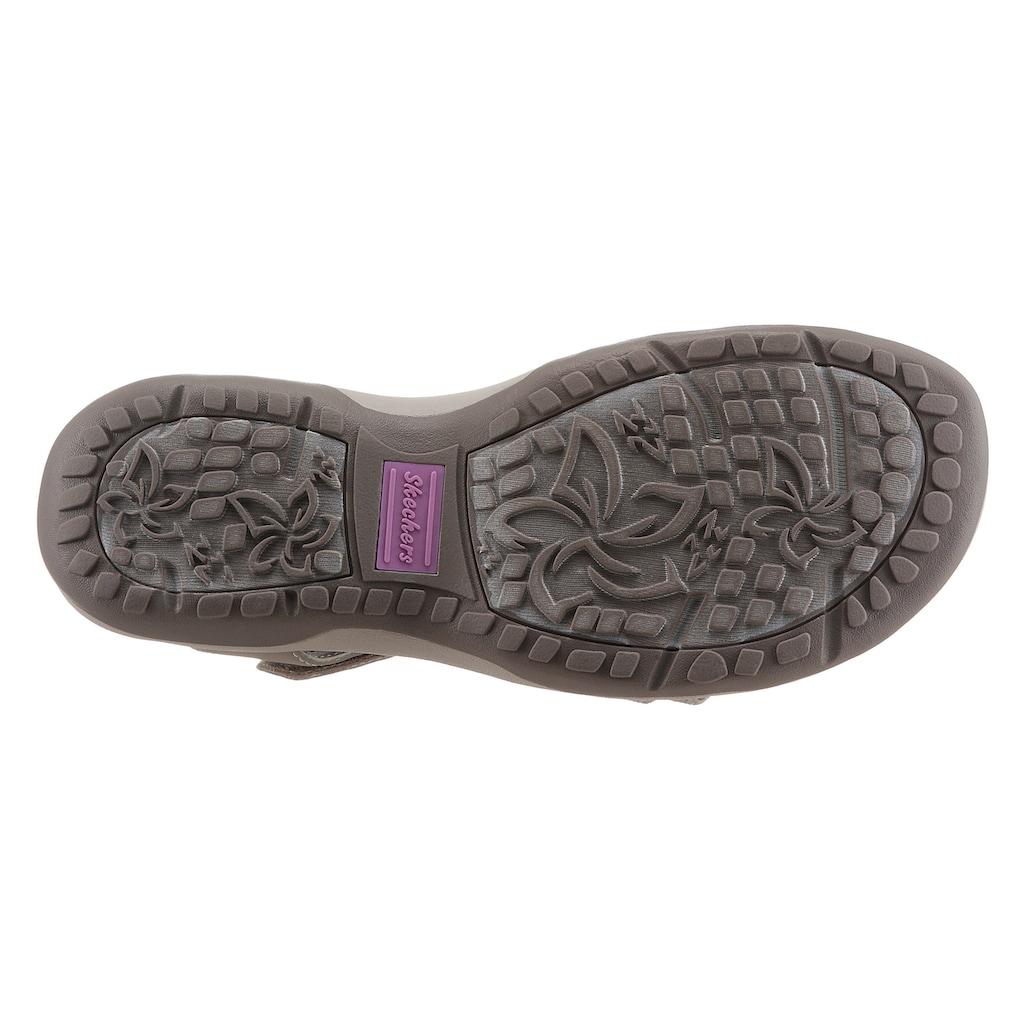 Skechers Sandale »REGGAE SLIM TAKES TWO«, in veganer Verarbeitung