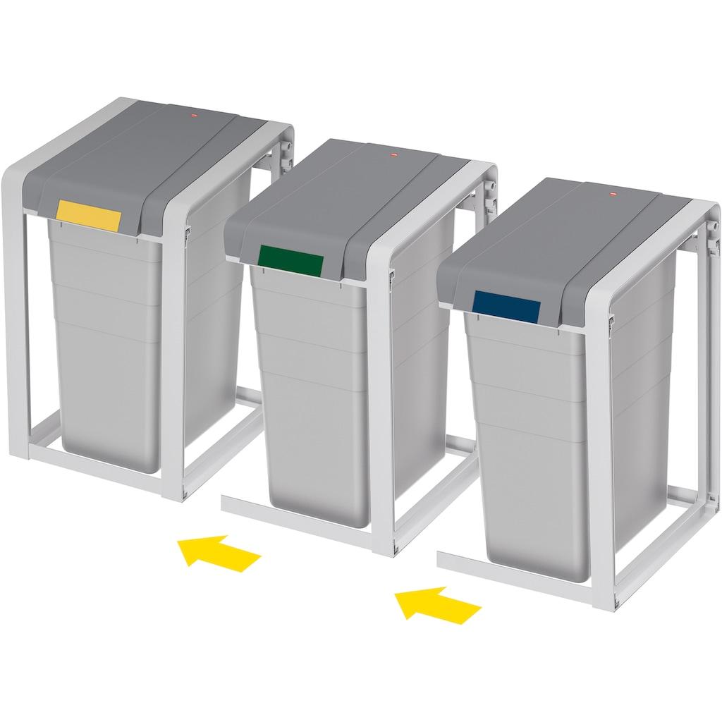Hailo Mülltrennsystem »ProfiLine Öko XL,Basiseinheit,38l«