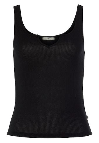 LTB Shirttop »PACEMO«, mit Aussparung am Ausschnitt kaufen