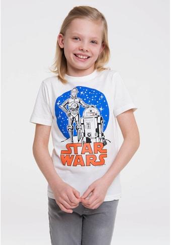 LOGOSHIRT T-Shirt »Star Wars - Droids«, mit lizenziertem Originaldesign kaufen