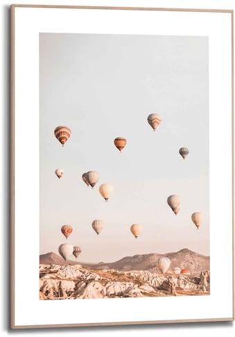 Reinders! Bild »Gerahmtes Bild Heißluftballon Ballonfahrt - Kappadokien - Freiheit«,... kaufen