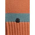 KangaROOS Kapuzenstrickjacke, im aktuellen Streifen-Design