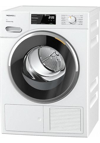 TWF640 WP EcoSpeed&8 kg T1, Miele, »Wärmepumpentrockner« kaufen
