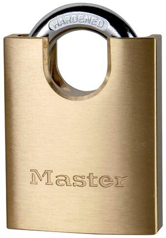 MASTER LOCK Vorhängeschloss 50 mm aus Messing, mit verdecktem Bügel kaufen