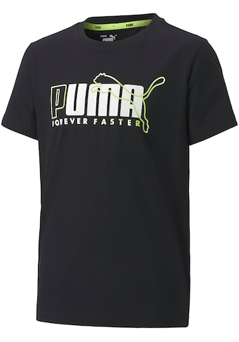 PUMA T - Shirt »ALPHA GRAPHIC TEE BOYS« kaufen