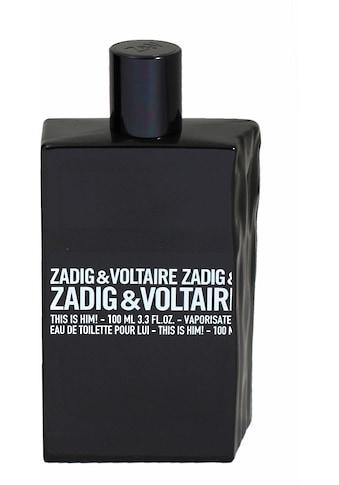 ZADIG & VOLTAIRE Eau de Toilette »This is Him!« kaufen