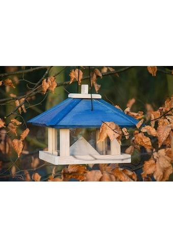dobar Vogelhaus »Maritim«, BxTxH: 29x29x25 cm, Futterstation mit Kordel aus Kiefer kaufen