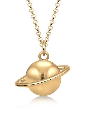Elli Kette mit Anhänger »Astro Planet Saturn Universum 925 Sterling Silber« kaufen
