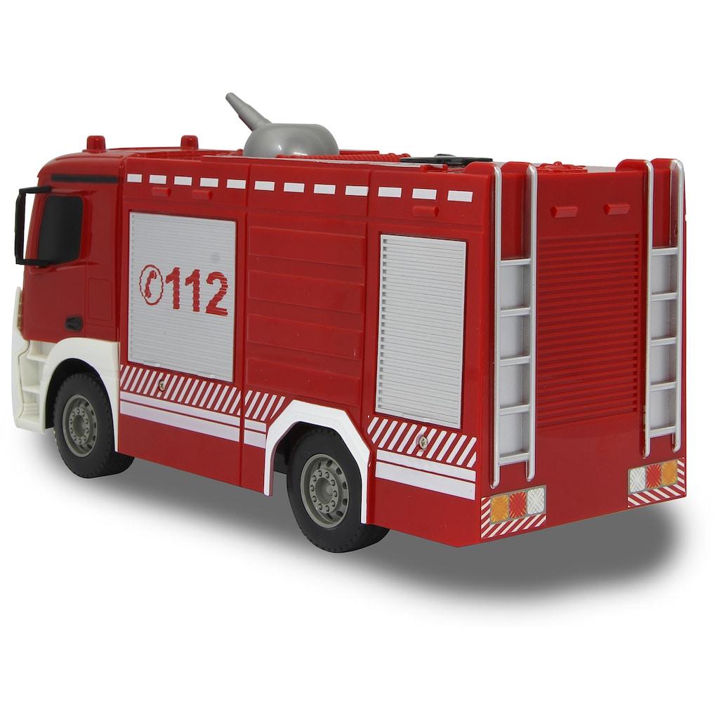 Jamara RC-LKW »Feuerwehr TLF Mercedes-Benz Antos 1:26 - 2,4 GHz«, mit Spritzfunktion