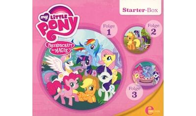Musik - CD Starter - Box / My Little Pony, (3 CD) kaufen