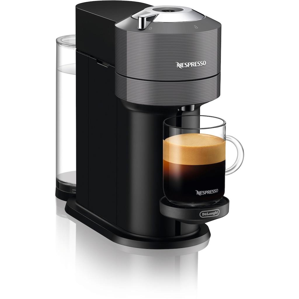 Nespresso Kapselmaschine »ENV 120.GYAE Vertuo Next«, inkl. Aeroccino Milchaufschäumer, grau