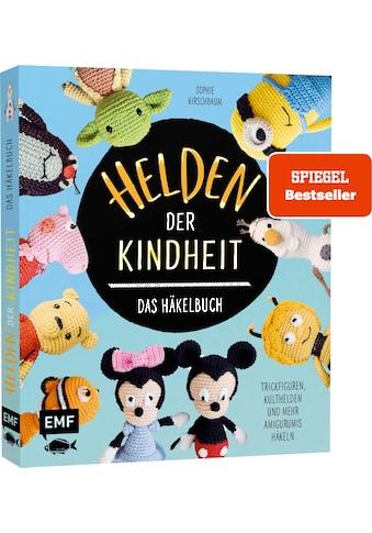 Buch »Helden der Kindheit - Das Häkelbuch - Trickfiguren, Kulthelden und mehr... kaufen