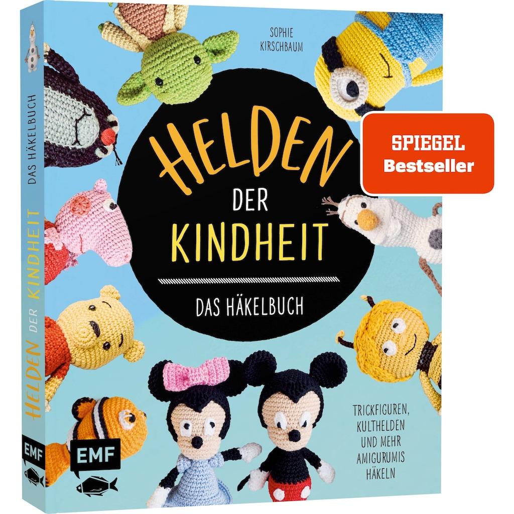 Buch »Helden der Kindheit - Das Häkelbuch - Trickfiguren, Kulthelden und mehr Amigurumis häkeln / Sophie Kirschbaum«