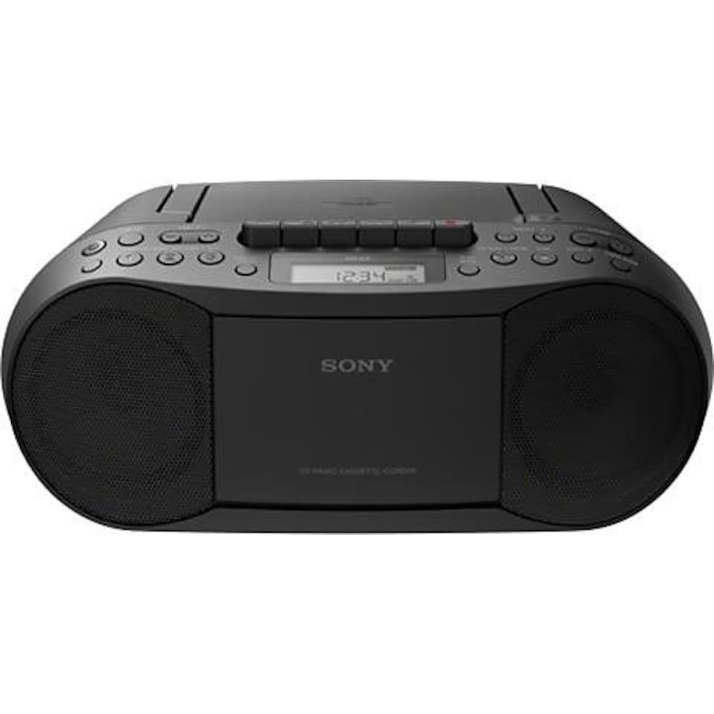 Sony Boombox »CFD-S70«, CD, MP-3, Kassette