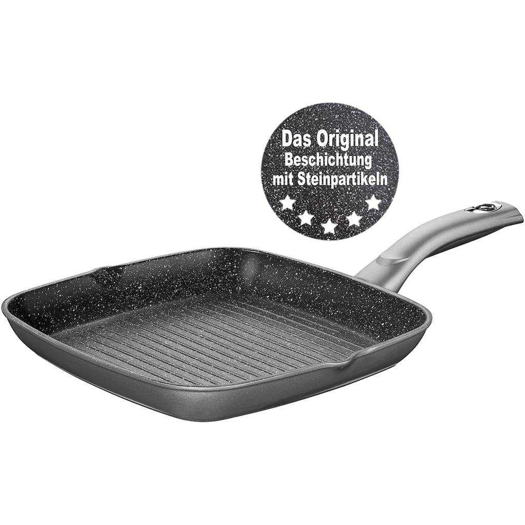 STONELINE Grillpfanne, Aluminium, (1 tlg.), Induktion