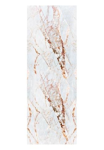 queence Vinyltapete »Marmor-Weiß«, Steinoptik, 90 x 250 cm, selbstklebend kaufen