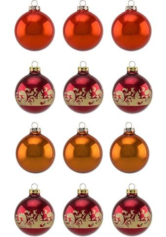 """Thüringer Glasdesign Weihnachtsbaumkugel """"Sienna"""" kaufen"""