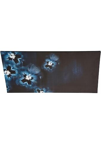 Guido Maria Kretschmer Home&Living Leinwandbild »Viola Flowers«, gerahmt, Keilrahmen kaufen