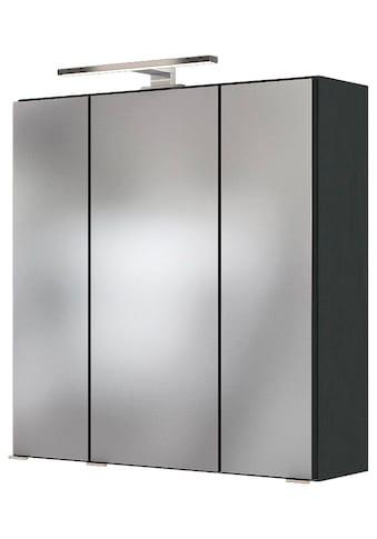 HELD MÖBEL Spiegelschrank »Baabe«, Breite 60 cm, mit 3D-Effekt, dank 3 Spiegeltüren kaufen