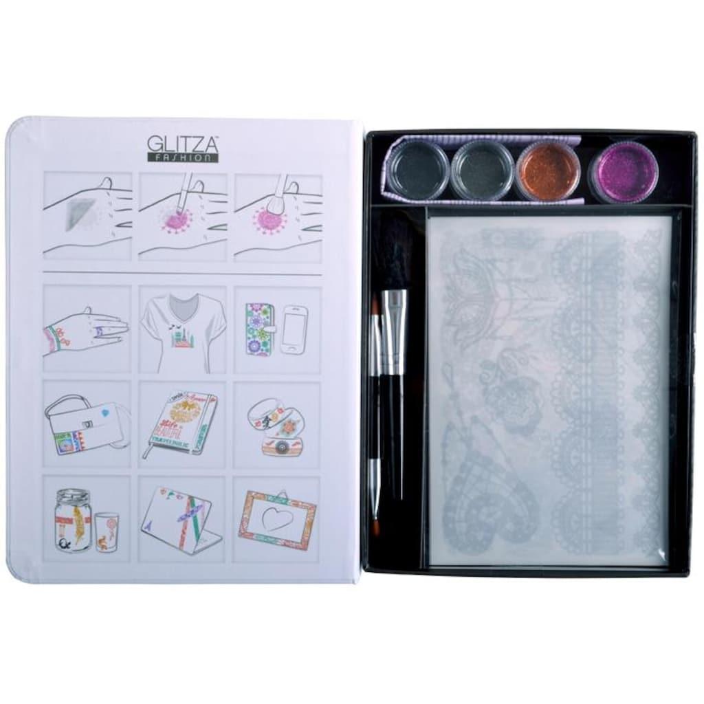 Knorrtoys® Kreativset »GLITZA FASHION Deluxe Set Laces«, (Set), Für alle Oberflächen geeignet