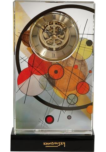 Goebel Tischuhr »Wassily Kandinski, Kreise im Kreis, 67100081« kaufen