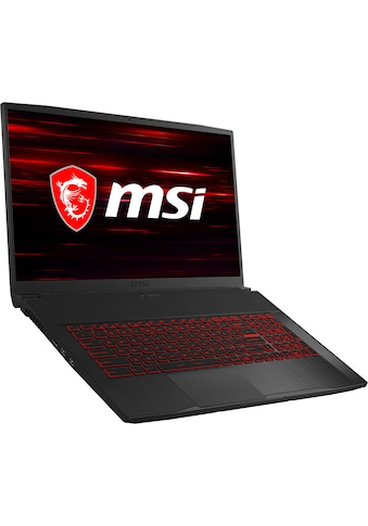 MSI GF75 10SCXR - 099  -  0017F4 - 099 Gaming - Notebook (43,9 cm / 17,3 Zoll, Intel,Core i7, 1000 GB HDD, 256 GB SSD) kaufen