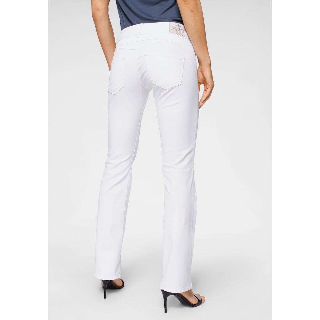 Herrlicher Bootcut-Jeans »GINA BOOT«, Superstretch Low Waist