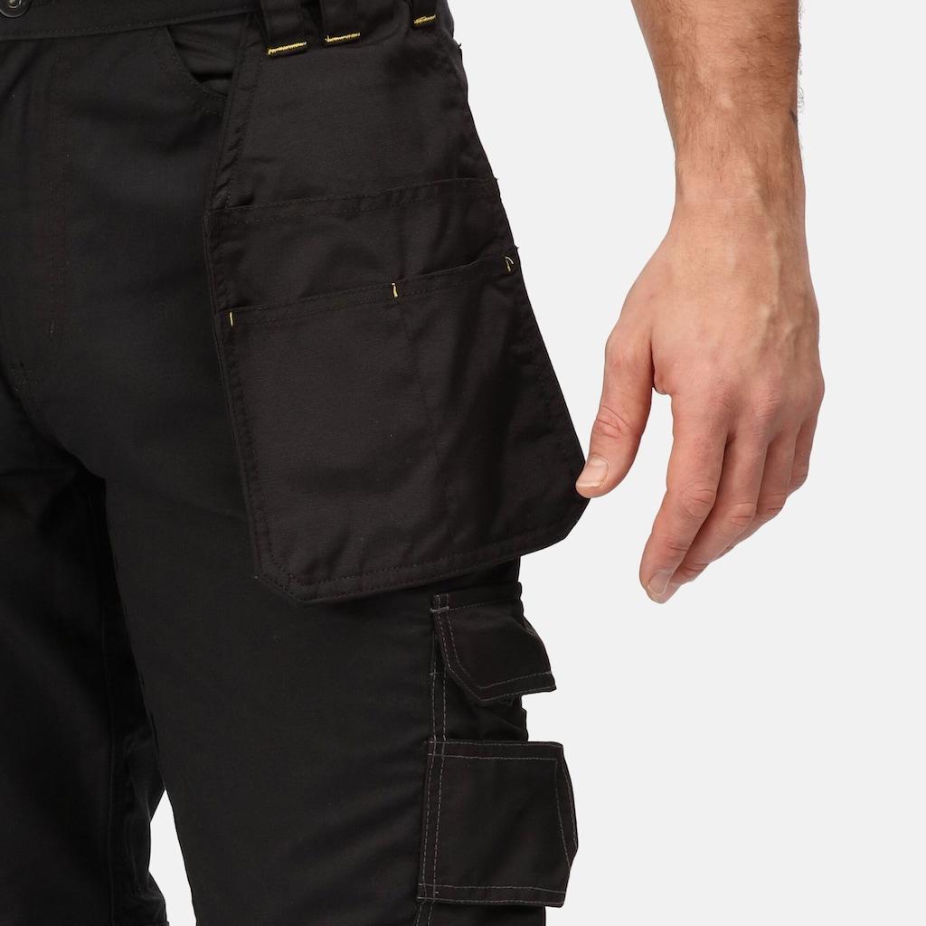 Regatta Funktionshose »Herren Holster Arbeitshosen (Kurz, Regulär und Lang)«