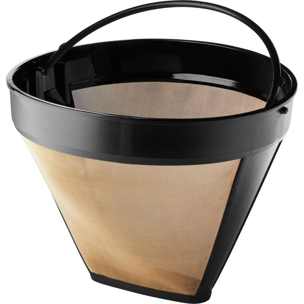 KitchenAid Filterkaffeemaschine »KitchenAid 5KCM1209EDG«, goldfarbener Permanentfilter, Drip-Kaffeemaschine mit spiralförmigem Wasserauslass