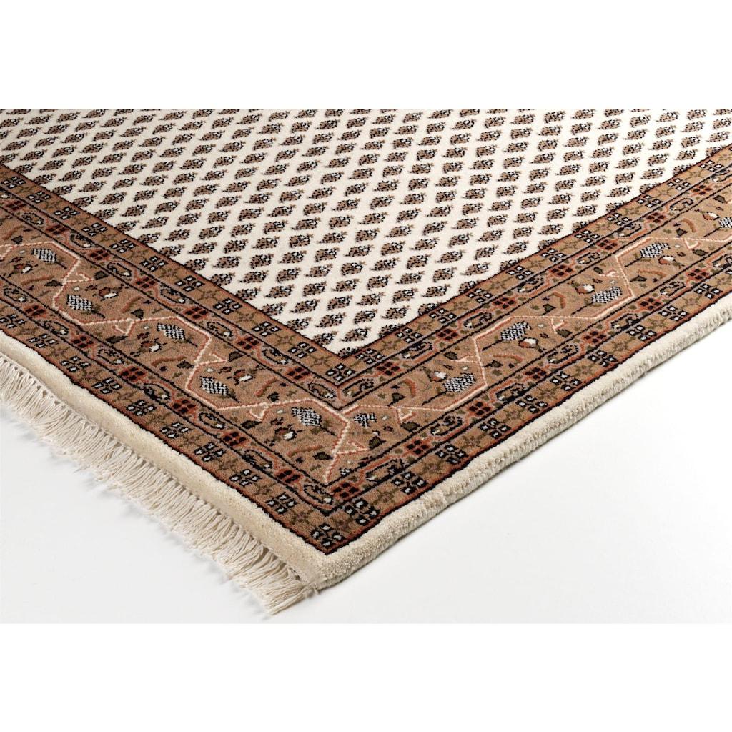 OCI DIE TEPPICHMARKE Orientteppich »Sakki Mir«, rechteckig, 7 mm Höhe, reine Wolle, handgeknüpft, mit Fransen, Wohnzimmer