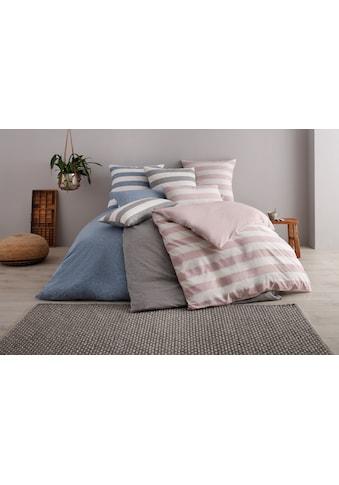OTTO products Wendebettwäsche »Jannis«, GOTS zertifiziert - nachhaltig aus Bio-Baumwolle kaufen