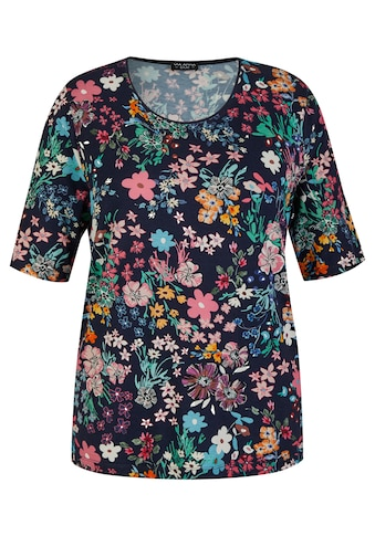 VIA APPIA DUE Kurzarmshirt, mit Flower-Power kaufen