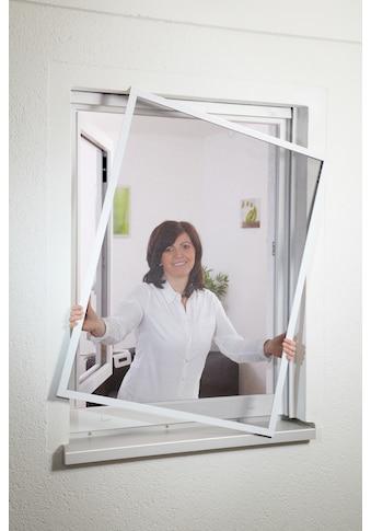 hecht international Insektenschutz-Fenster »COMPACT«, weiß/anthrazit, BxH: 130x150 cm kaufen