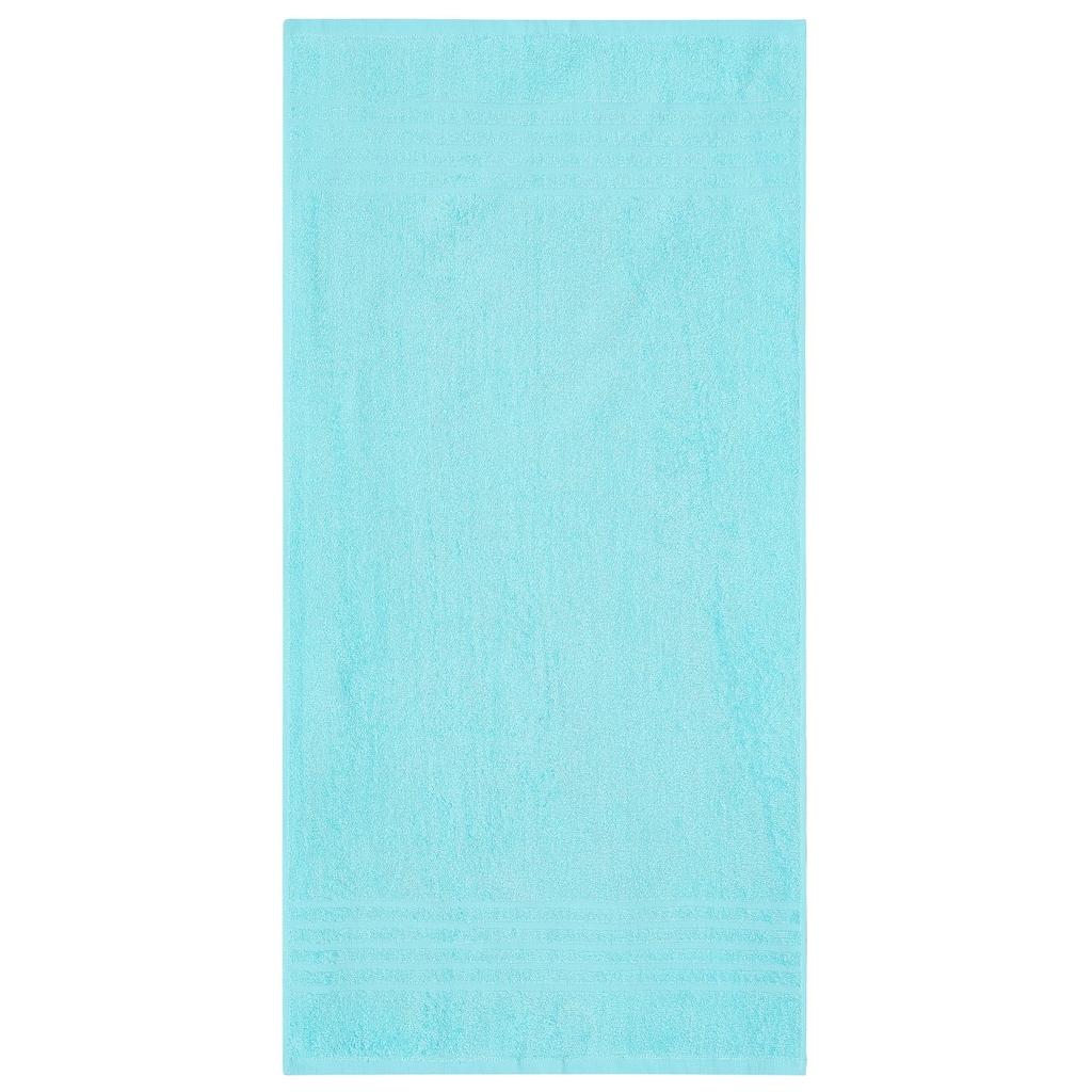 my home Handtücher »Finn«, (6 St.), mit unifarbenem und gestreiftem Design
