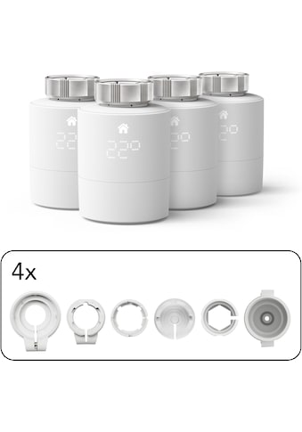 Tado Heizkörperthermostat »Smartes Heizkörper-Thermostat - Quattro Pack,... kaufen